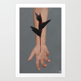 wanting to be Art Print