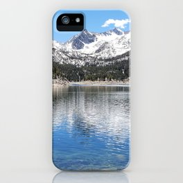 South Lake and Eastern Sierra Nevada Mountains iPhone Case