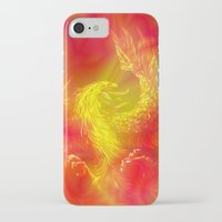 phoenix iPhone & iPod Cases featuring Phoenix by Paula Belle Flores