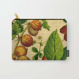 Vintage Gooseberries Carry-All Pouch