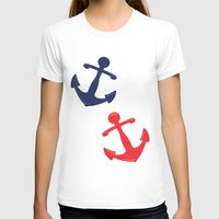 anchors T-shirts featuring Anchors by Indulge My Heart