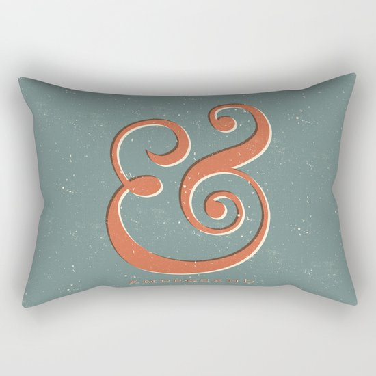Ampersand Rectangular Pillow
