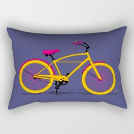 Happy Bike Rectangular Pillow