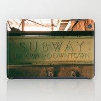 subway iPad Cases featuring Subway by Kimball Gray
