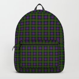 MacDonald Tartan Plaid Backpack