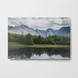 Cuillin Ridge - Isle of Skye, Scotland Metal Print