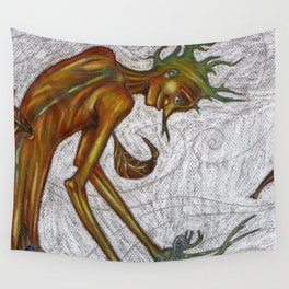 In the forest Wall Tapestry