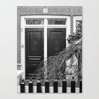 door Canvas Prints featuring door by habish