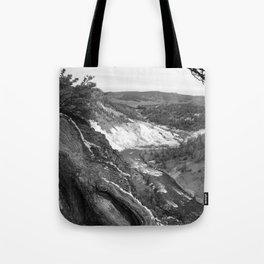 Yellowstone River At Lava Creek Tote Bag
