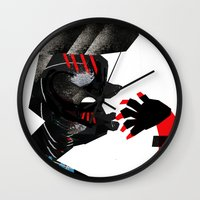 ethnic Wall Clocks featuring Ethnic by longmuzzle
