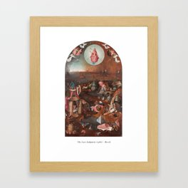 The Last Judgment - Bosch Framed Art Print
