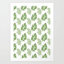 Dill and Parsley Art Print