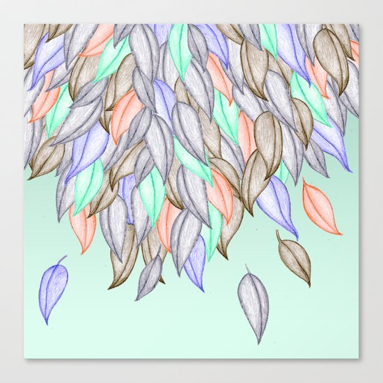 CRAYON LOVE  - A Different Nature Canvas Print