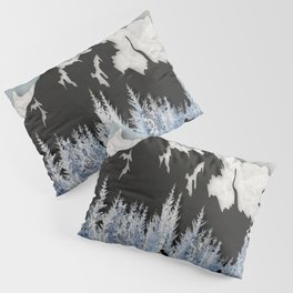 Cross Country Skiing Pillow Sham