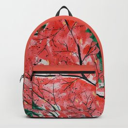 Abstract Landscape by Azam Sadeghi Backpack