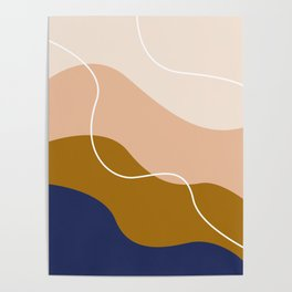 modern chic pattern Poster