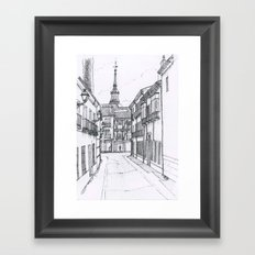 Alcala street #2 Framed Art Print