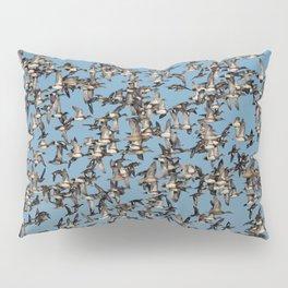 Wintering Ducks in Flight Pillow Sham