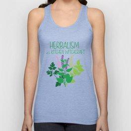 Herbalism a.k.a Kitchen Witchcraft Herbalist graphic Unisex Tank Top