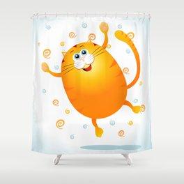 Jump! Shower Curtain