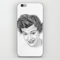 harry iPhone & iPod Skins featuring Harry by Kerri Dixon Art