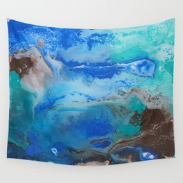 Lightning in the Sea Wall Tapestry