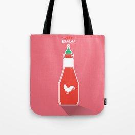 In My Fridge - Sriracha Sauce Tote Bag