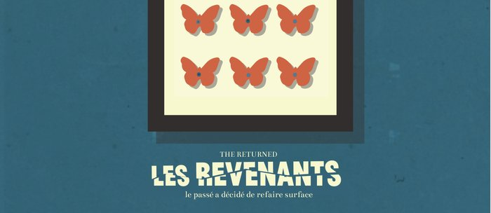 Les Revenants, french movie poster, Canal + tv series, the returned Coffee Mug