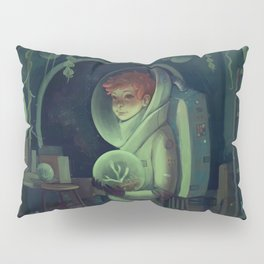 August the Botanist Pillow Sham