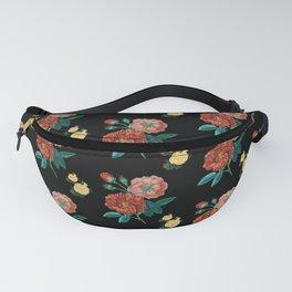 Moody Vintage Floral Fanny Pack