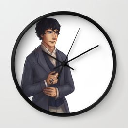 Will Herondale Wall Clock
