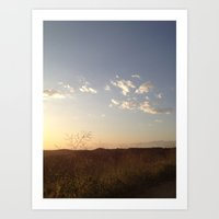 hiking Art Prints featuring Hiking Whittier by Uptilted Sparrow Photography