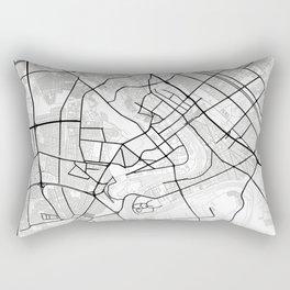 Baghdad Light City Map Rectangular Pillow