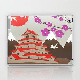 Japanese Pagoda Laptop & iPad Skin