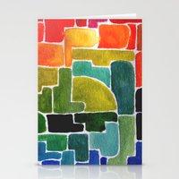 maze runner Stationery Cards featuring Maze Runner by Lara Nicholls