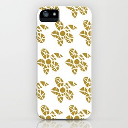 Mosaic Flowers iPhone Case