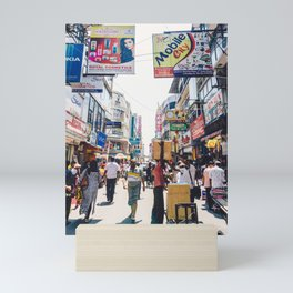 Streets of the Market, Colombo, Sri Lanka Mini Art Print