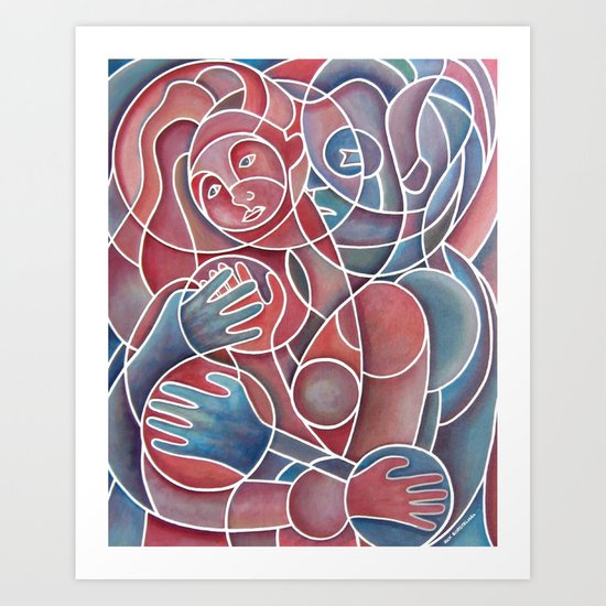 Squeeze Play Art Print