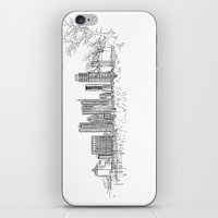 austin iPhone & iPod Skins featuring Austin by katarjana