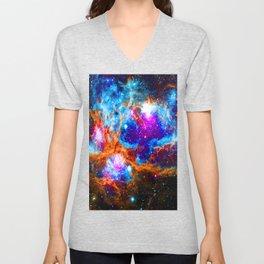 Cosmic Winter Wonderland Unisex V-Neck