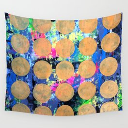 Bubble Wrap Abstract Pop Painting by Robert Erod HUGE COLORFUL ART Wall Tapestry