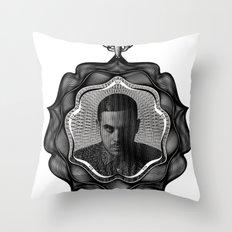 Spirobling IX Throw Pillow