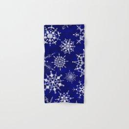 Snowflakes Floating through the Sky Hand & Bath Towel