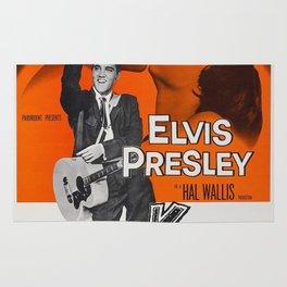 Vintage Classic Movie Posters, King Creole, Elvis Presley Rug