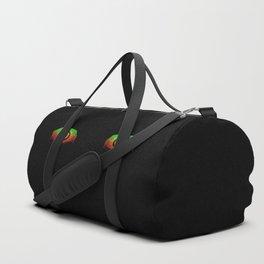 Creepy eyes Duffle Bag