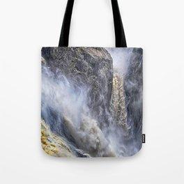 The magnificent Barron Falls Tote Bag