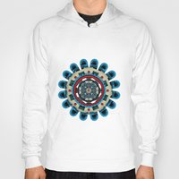 sacred geometry Hoodies featuring Sacred Geometry by Angel Decuir