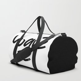"""Yoquésé"" [Copyright] Mar Cantón, 2017 Duffle Bag"
