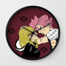 Nalu in color Wall Clock