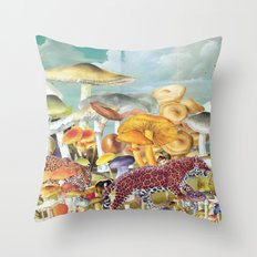 Hare Today, Gone Tomorrow Throw Pillow